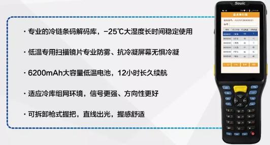 东集手持终端/pda,助力捍卫餐桌安全