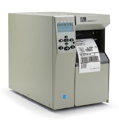 斑马Zebra 105SLPLUS工商用打印机203/300pdi