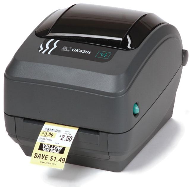Zebra GK420t\420d桌面打印机203 dpi
