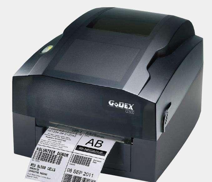 科诚GODEX G300桌面条码打印机203dpi