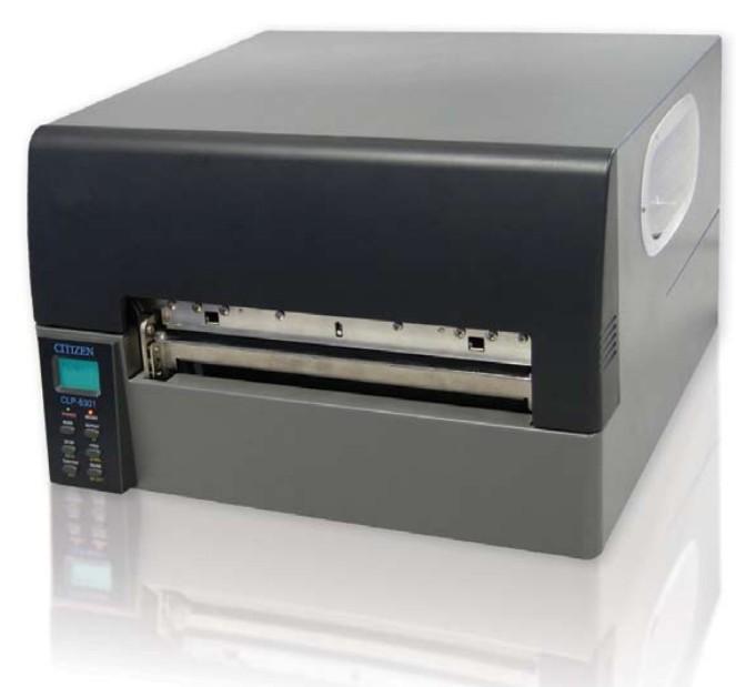 西铁城CLP8301宽幅条码打印机8英寸