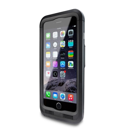 Captuvo SL42 iPhone 6与iPhone 6 Plus企业级专用扫描附件