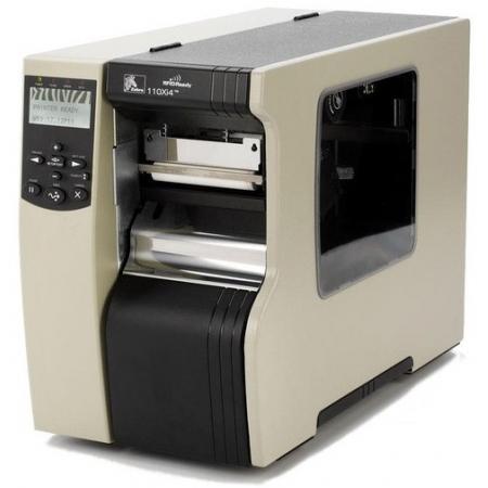 斑马Zebra 110Xi4工商用条码打印机203/300/600pdi