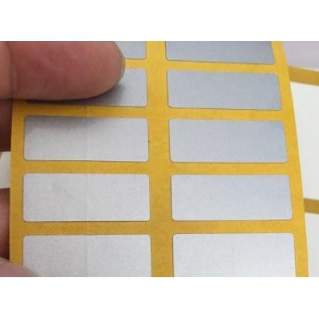 3M 3698E银色标签,不干胶标签