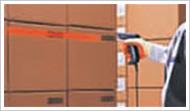 采用CCD方式,可实现读取距离超过1m(窄条宽度在1.0mm时)的远距离读取